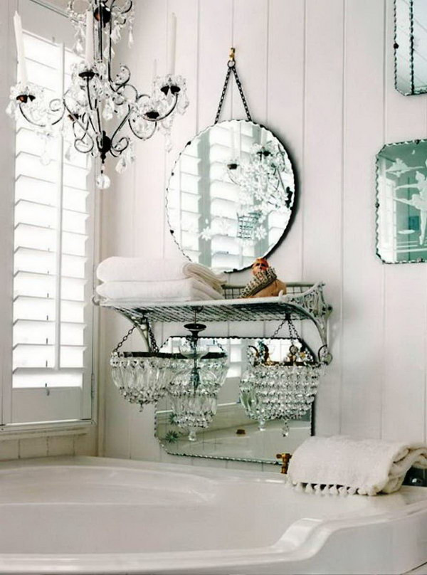 Best ideas about Shabby Chic Bathroom Accesories . Save or Pin 50 Amazing Shabby Chic Bathroom Ideas Now.
