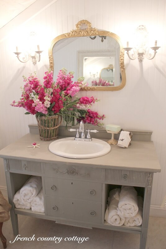 Best ideas about Shabby Chic Bathroom Accesories . Save or Pin 28 Best Shabby Chic Bathroom Ideas and Designs for 2017 Now.