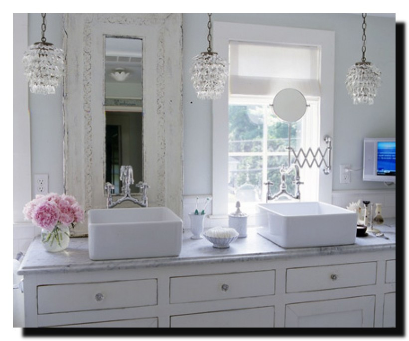 Best ideas about Shabby Chic Bathroom Accesories . Save or Pin Shabby Chic White Dresser 6 Drawer Long Modern Design Now.