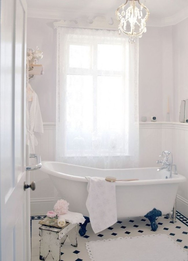 Best ideas about Shabby Chic Bathroom Accesories . Save or Pin 18 Bathrooms for Shabby Chic Design Inspiration Now.