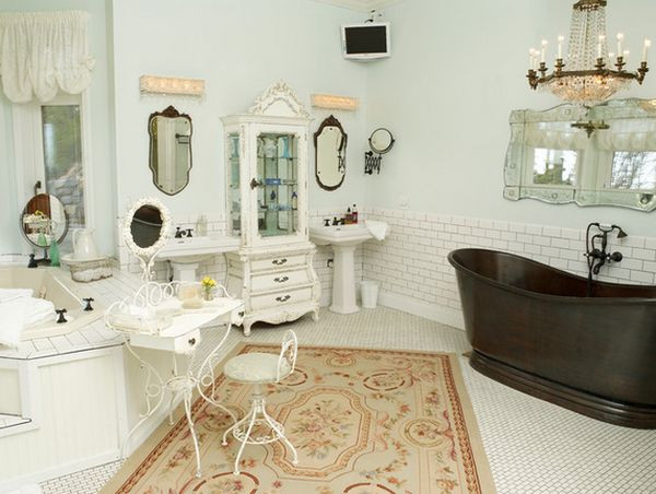 Best ideas about Shabby Chic Bathroom Accesories . Save or Pin 52 Ways Incorporate Shabby Chic Style into Every Room in Now.