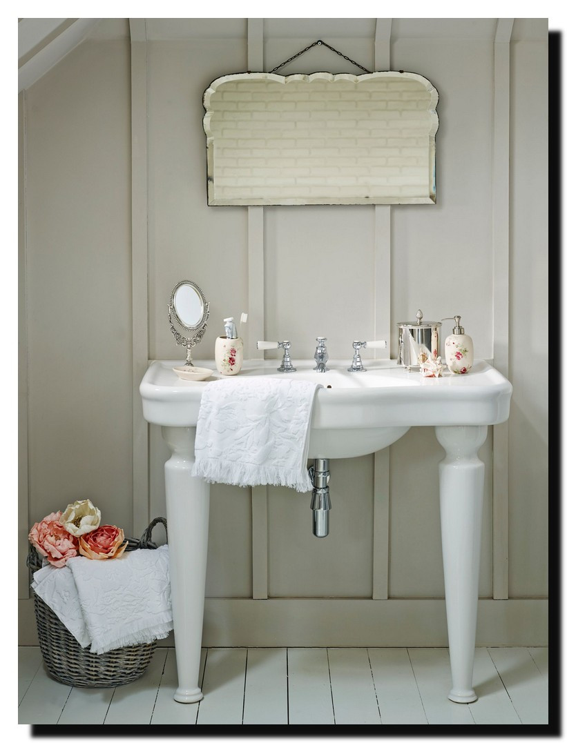 Best ideas about Shabby Chic Bathroom Accesories . Save or Pin Shabby Chic Dresser Vintage Now.