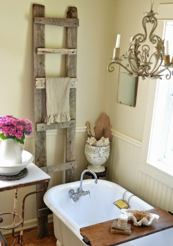 Best ideas about Shabby Chic Bathroom Accesories . Save or Pin 28 Lovely And Inspiring Shabby Chic Bathroom Décor Ideas Now.