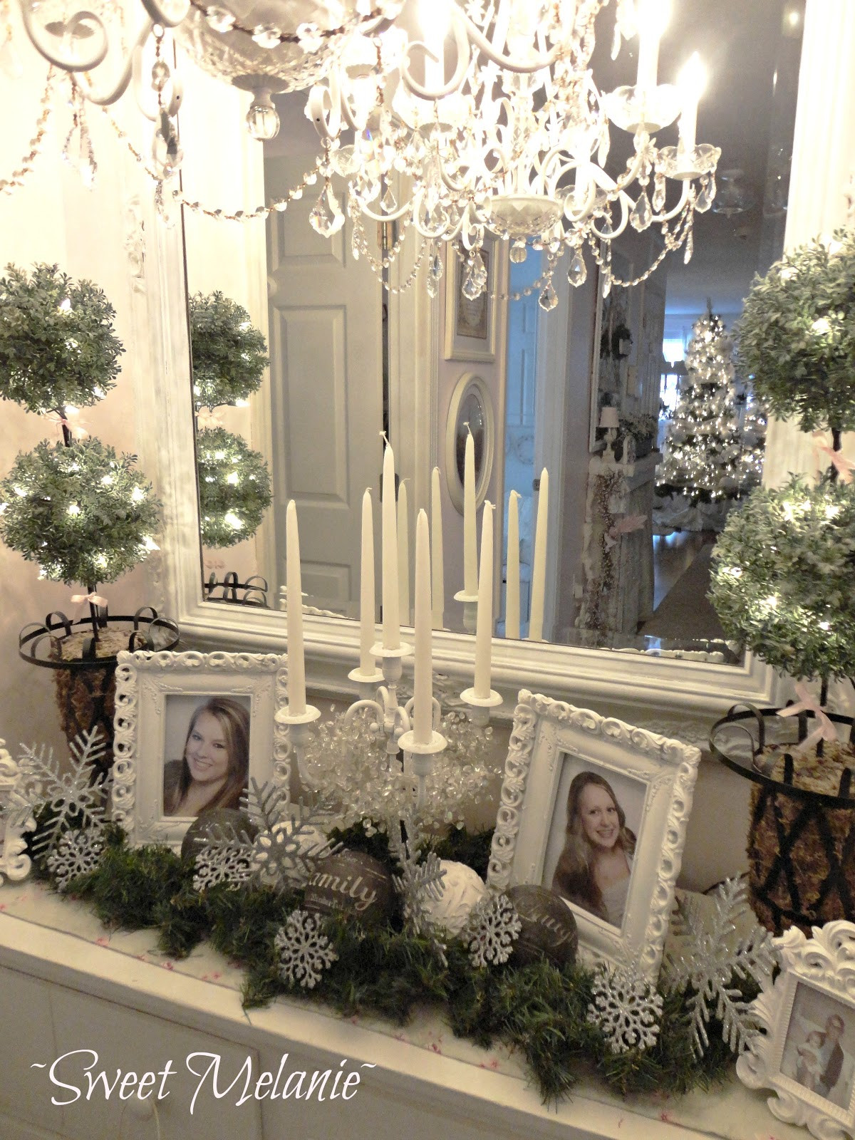 Best ideas about Shabby Chic Christmas . Save or Pin Shabby chic Christmas Home tour Debbiedoo s Now.