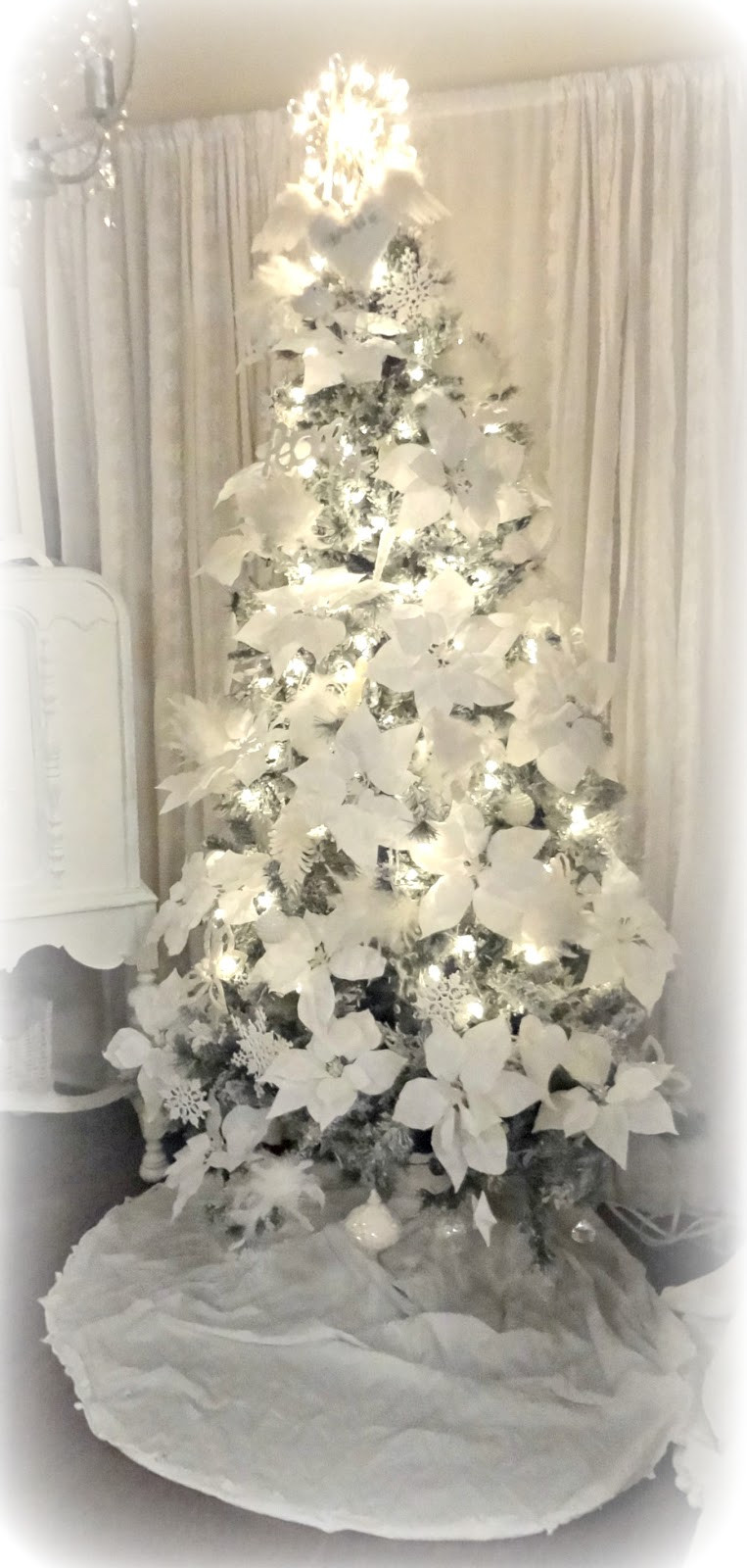 Best ideas about Shabby Chic Christmas . Save or Pin Not So Shabby Shabby Chic Christmas Tree Oh Christmas Tree Now.