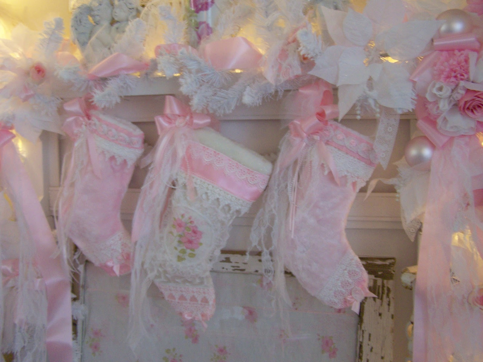 Best ideas about Shabby Chic Christmas . Save or Pin Olivia s Romantic Home My Shabby Chic Christmas Home Tour Now.