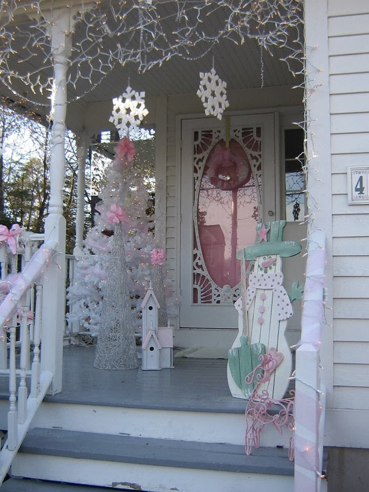 Best ideas about Shabby Chic Christmas . Save or Pin Olivia s Romantic Home Shabby Chic Pink Christmas Now.