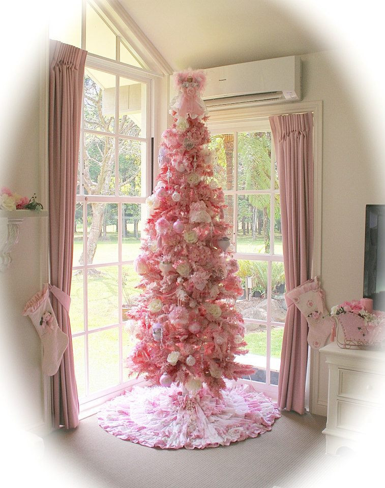 Best ideas about Shabby Chic Christmas . Save or Pin Olivia s Romantic Home Mel s Pink Christmas Home Tour Now.