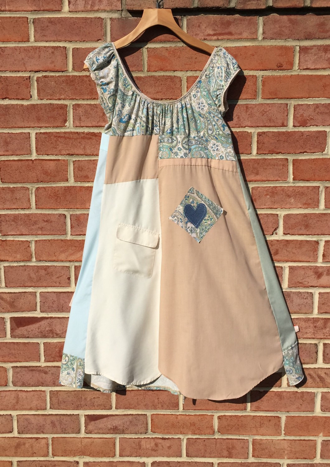 Best ideas about Shabby Chic Clothing . Save or Pin SALE Upcycled clothing shabby chic paisley patchwork dress MED Now.