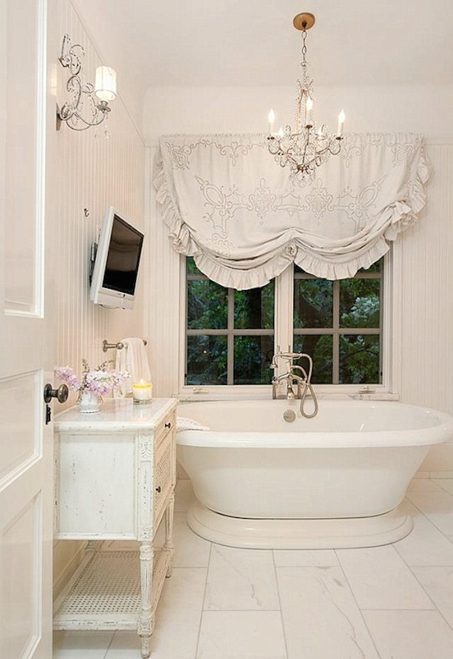 Best ideas about Shabby Chic Design . Save or Pin 18 Bathrooms for Shabby Chic Design Inspiration Now.