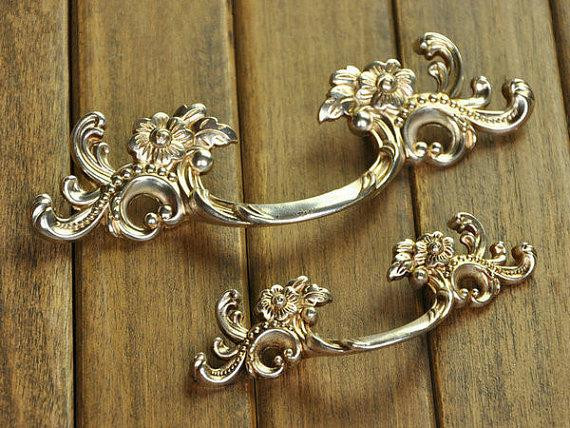 Best ideas about Shabby Chic Drawer Pull . Save or Pin 1 75 2 5 Shabby Chic Dresser Pull Drawer Pulls Now.