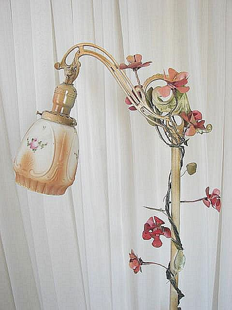 Best ideas about Shabby Chic Floor Lamp . Save or Pin Vintage Shabby Cottage Chic Floor Lamp w by Now.