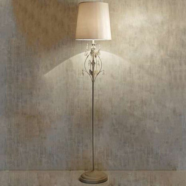Best ideas about Shabby Chic Floor Lamp . Save or Pin Shabby Chic Leaf Floor Lamp Standing Lamp New Now.