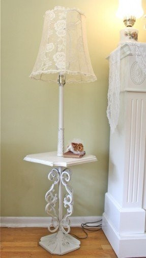 Best ideas about Shabby Chic Floor Lamp . Save or Pin Shabby Chic Floor Lamps Foter Now.