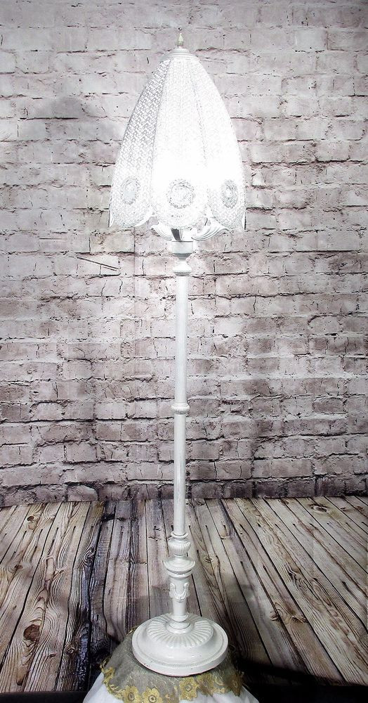 Best ideas about Shabby Chic Floor Lamp . Save or Pin 1000 ideas about Shabby Chic Lamps on Pinterest Now.