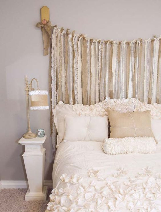 Best ideas about Shabby Chic Headboard . Save or Pin 25 Delicate Shabby Chic Bedroom Decor Ideas Shelterness Now.