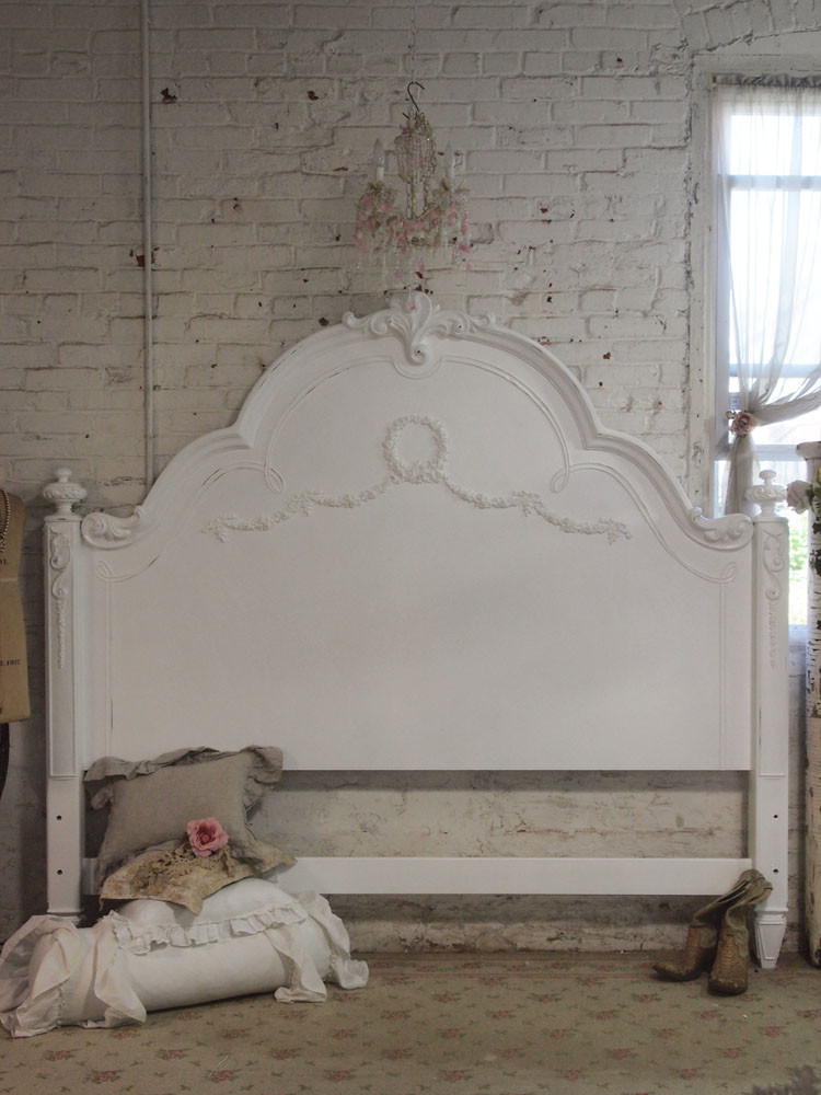 Best ideas about Shabby Chic Headboard . Save or Pin shabby chic romantic beds Now.