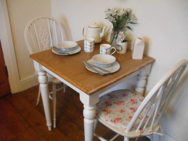 Best ideas about Shabby Chic Kitchen Table . Save or Pin Shabby chic Kitchen Table & Chairs with Cath Kidston seat pads Now.