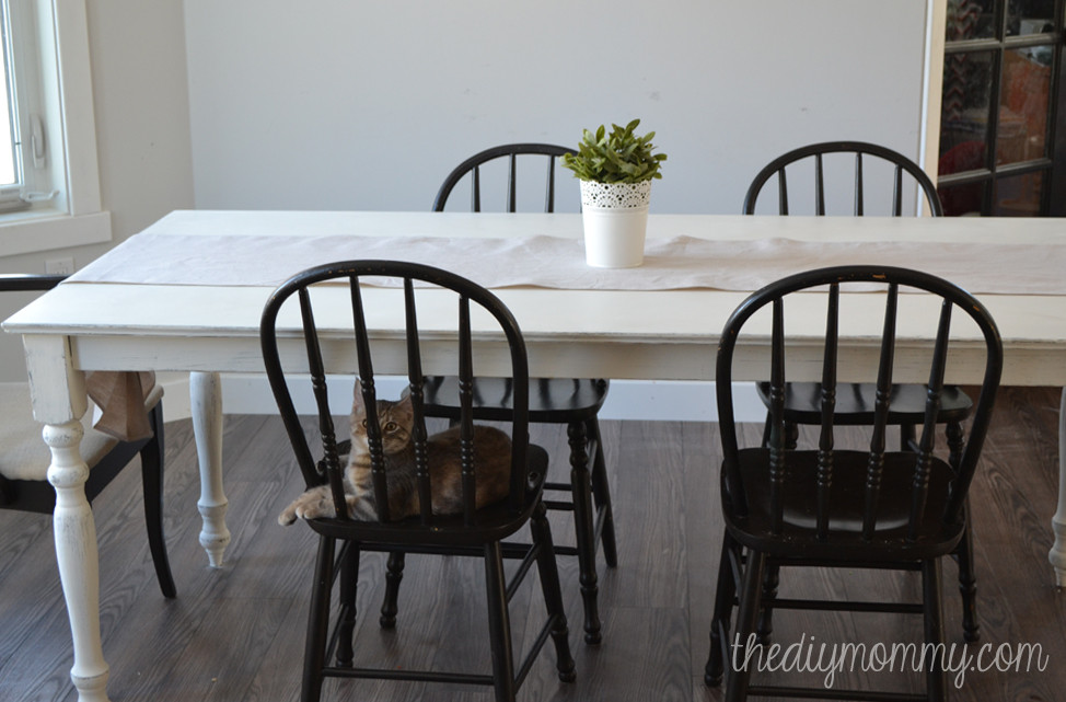 Best ideas about Shabby Chic Kitchen Table . Save or Pin A Shabby Chic Farmhouse Table with DIY Chalk Paint Now.