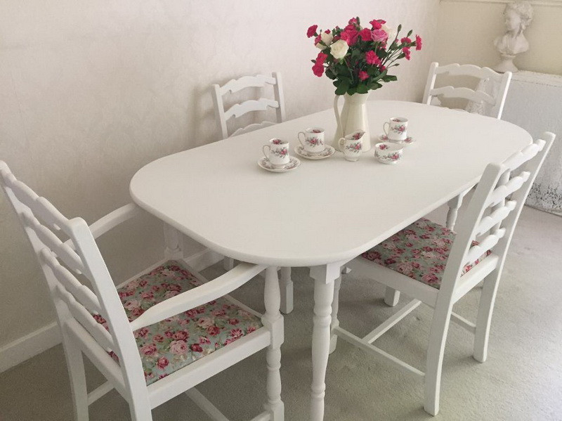 Best ideas about Shabby Chic Kitchen Table . Save or Pin Shabby Chic Dining Table Sets & Full Size Dining Rooma Now.