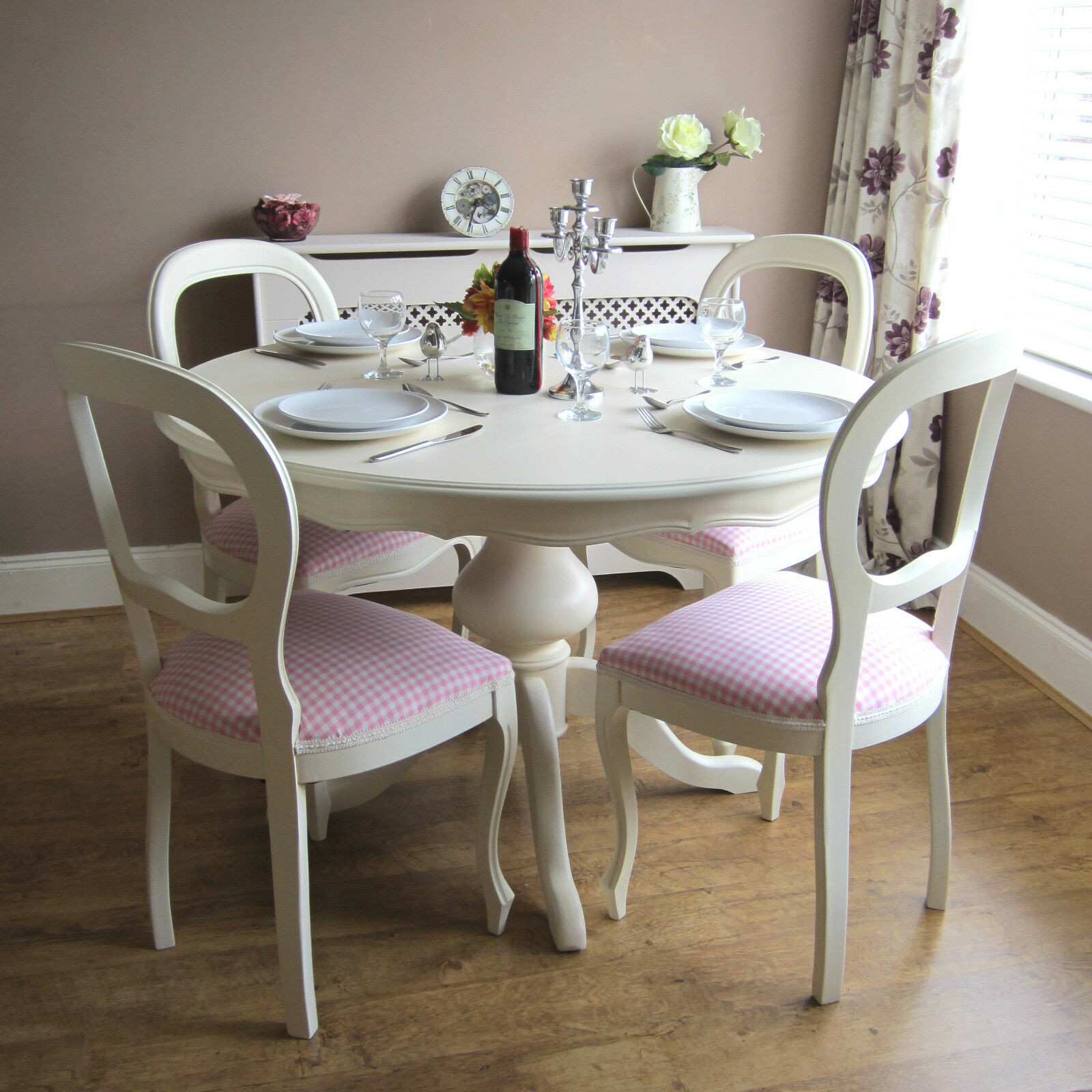 Best ideas about Shabby Chic Kitchen Table . Save or Pin Shabby Chic Table and Chairs Now.