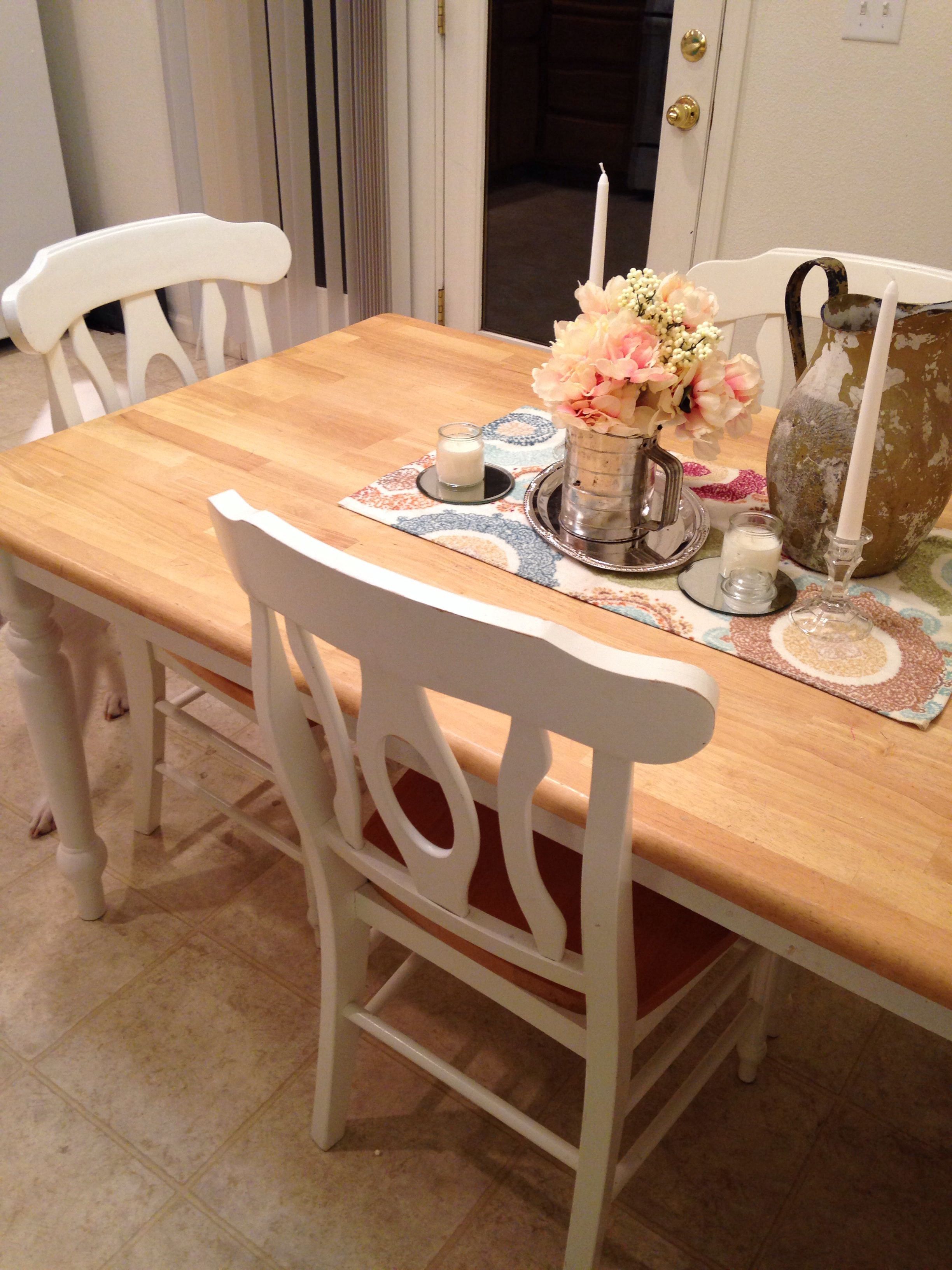 Best ideas about Shabby Chic Kitchen Table . Save or Pin Shabby chic kitchen table casa Now.