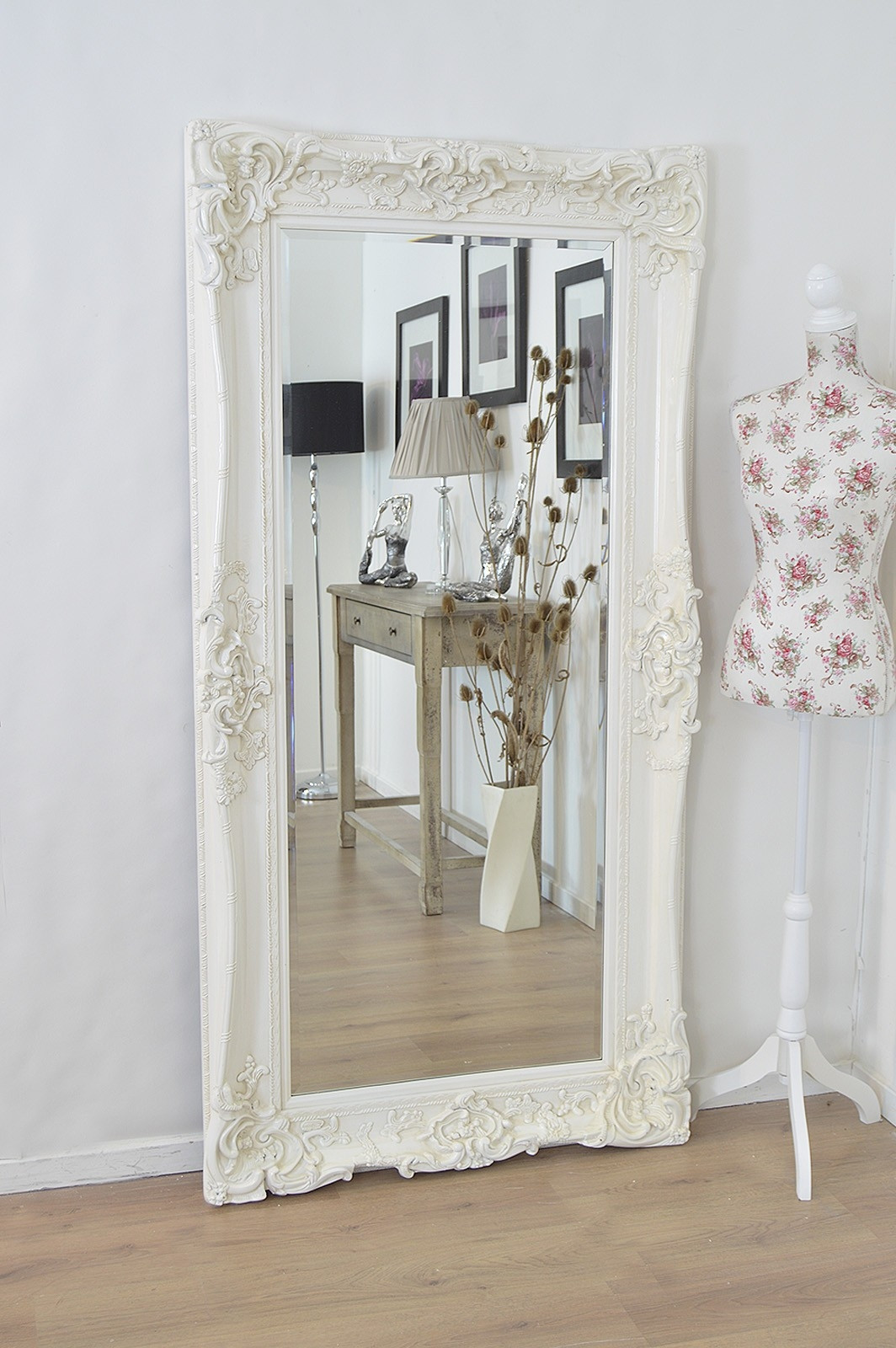 Best ideas about Shabby Chic Mirror . Save or Pin White Shabby Chic Mirror Now.