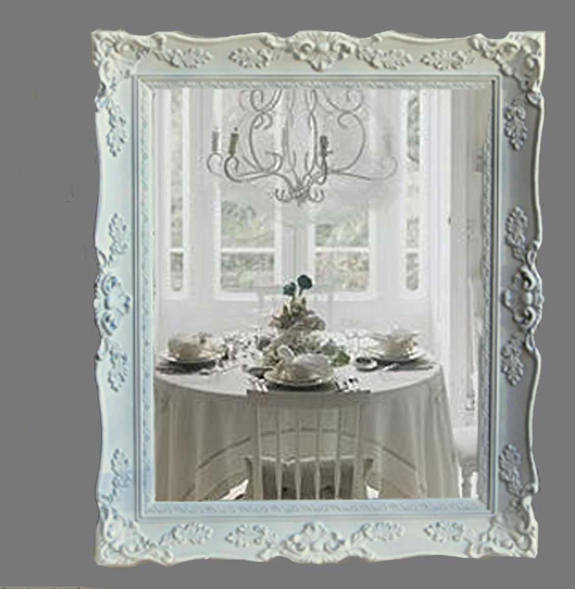 Best ideas about Shabby Chic Mirror . Save or Pin Reserved for Alma Shabby Chic Mirror Cottage Chic White Now.