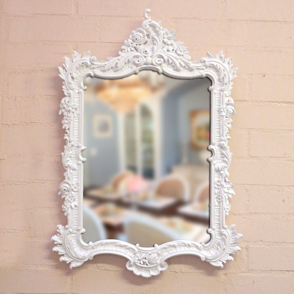Best ideas about Shabby Chic Mirror . Save or Pin Shabby Cottage Chic Rococo French Style Wall Mirror Ornate Now.