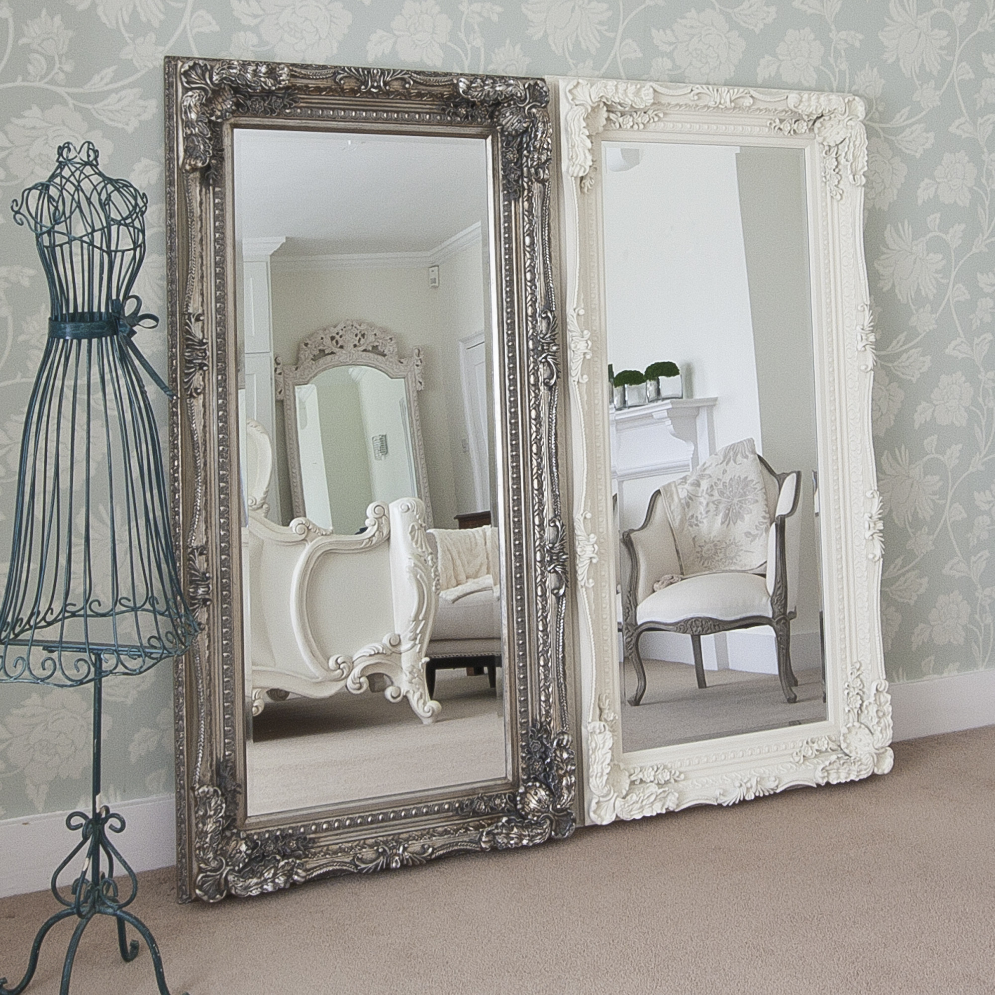 Best ideas about Shabby Chic Mirror . Save or Pin Full Length Mirrors Now.