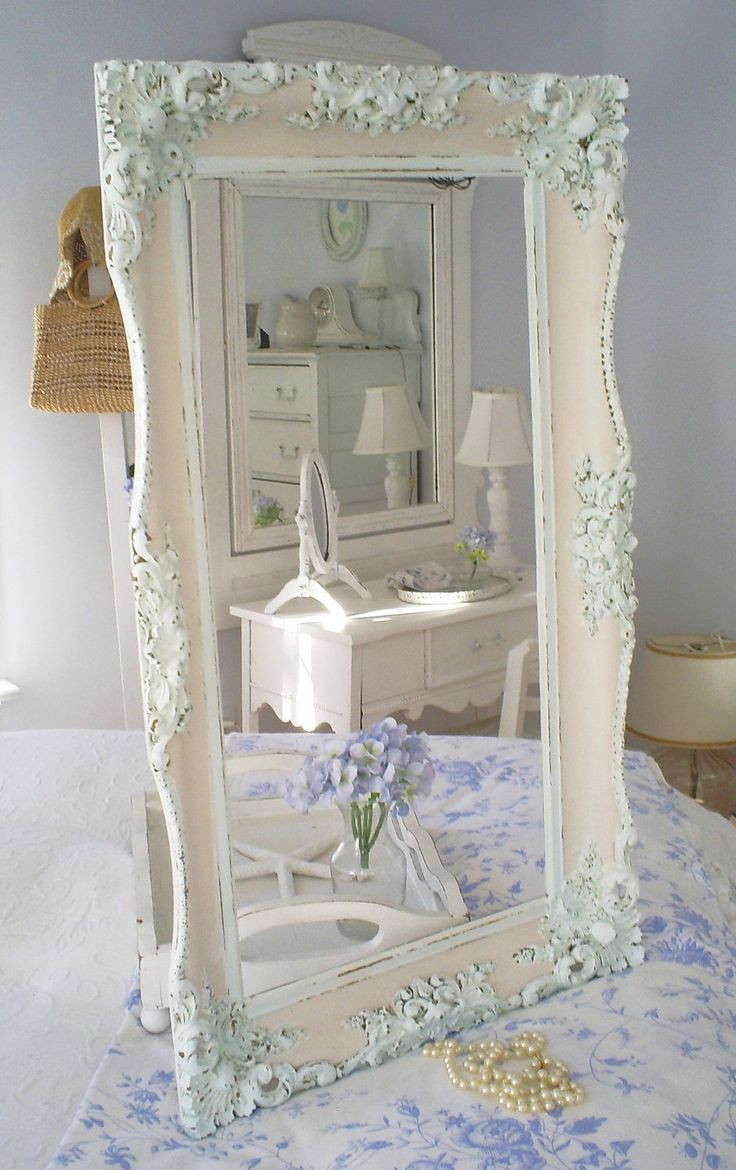 Best ideas about Shabby Chic Mirror . Save or Pin 17 Best ideas about Shabby Chic Frames on Pinterest Now.
