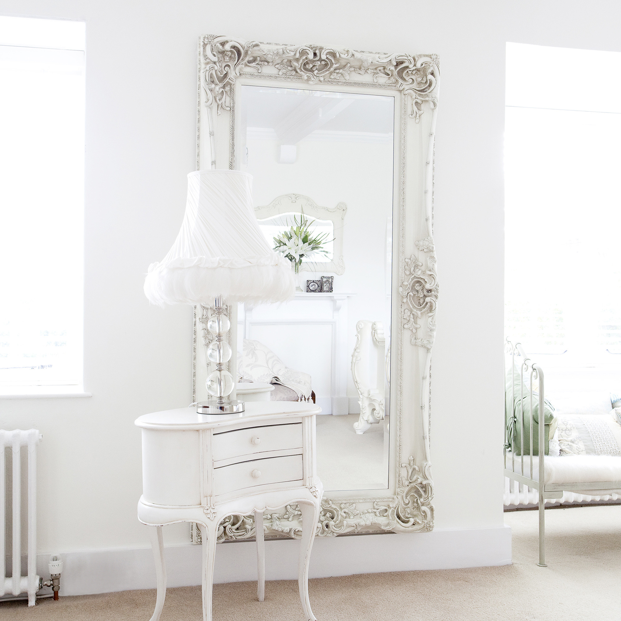 Best ideas about Shabby Chic Mirror . Save or Pin Shabby Chic Mirrors French Style Mirror Now.