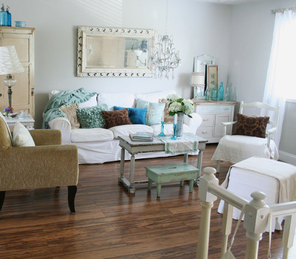 Best ideas about Shabby Chic Style . Save or Pin 24 Vintage Living Room Designs Decorating Ideas Now.