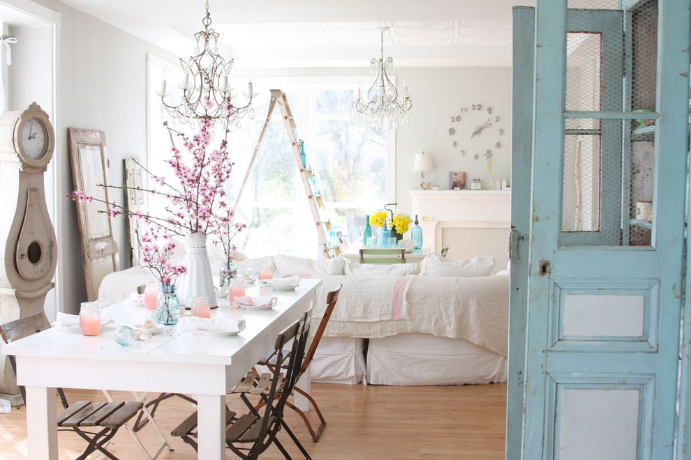 Best ideas about Shabby Chic Style . Save or Pin 25 Shabby Chic Dining Room Designs Decorating Ideas Now.
