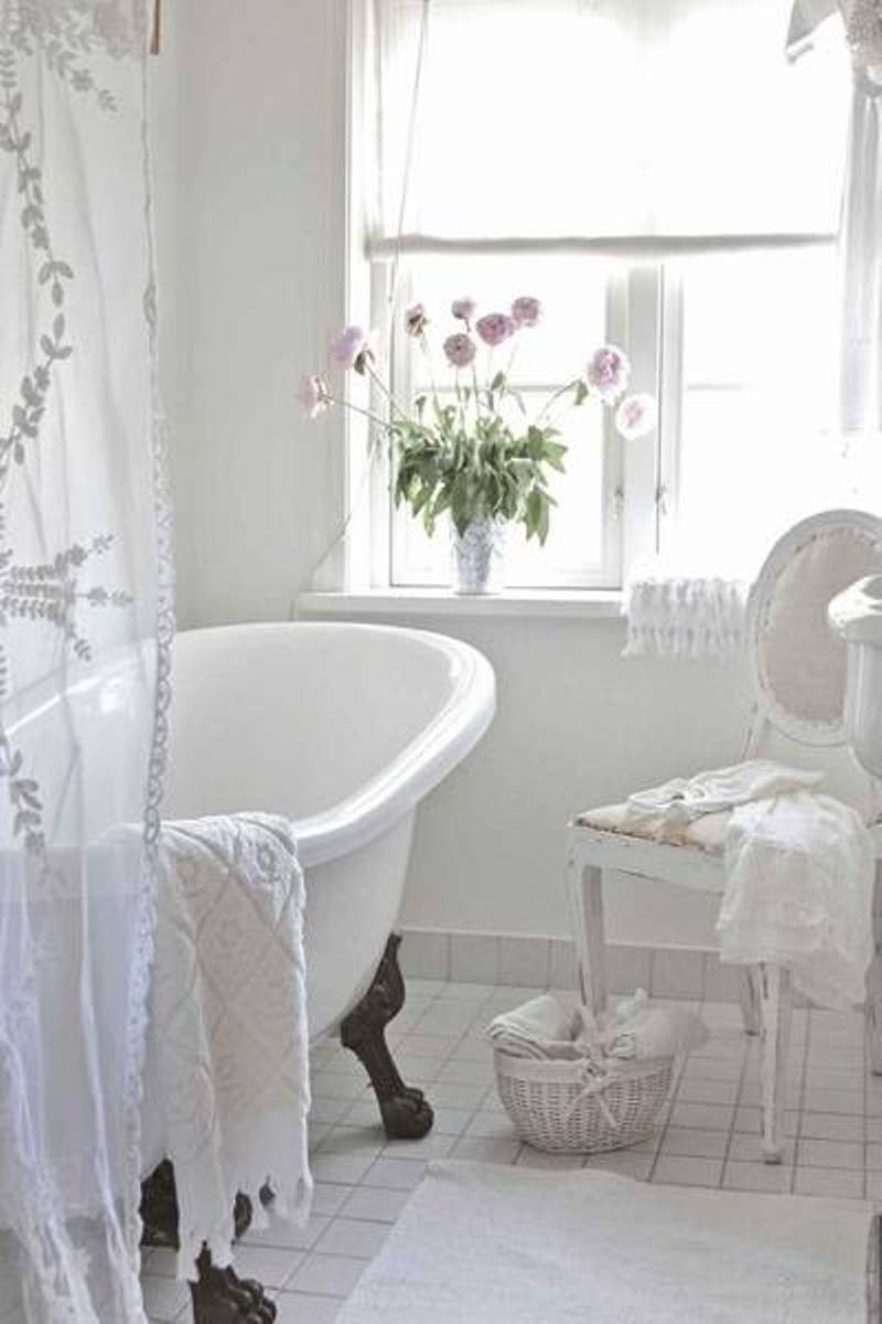 Best ideas about Shabby Chic Style . Save or Pin 25 Shabby Chic Style Bathroom Design Ideas Decoration Love Now.