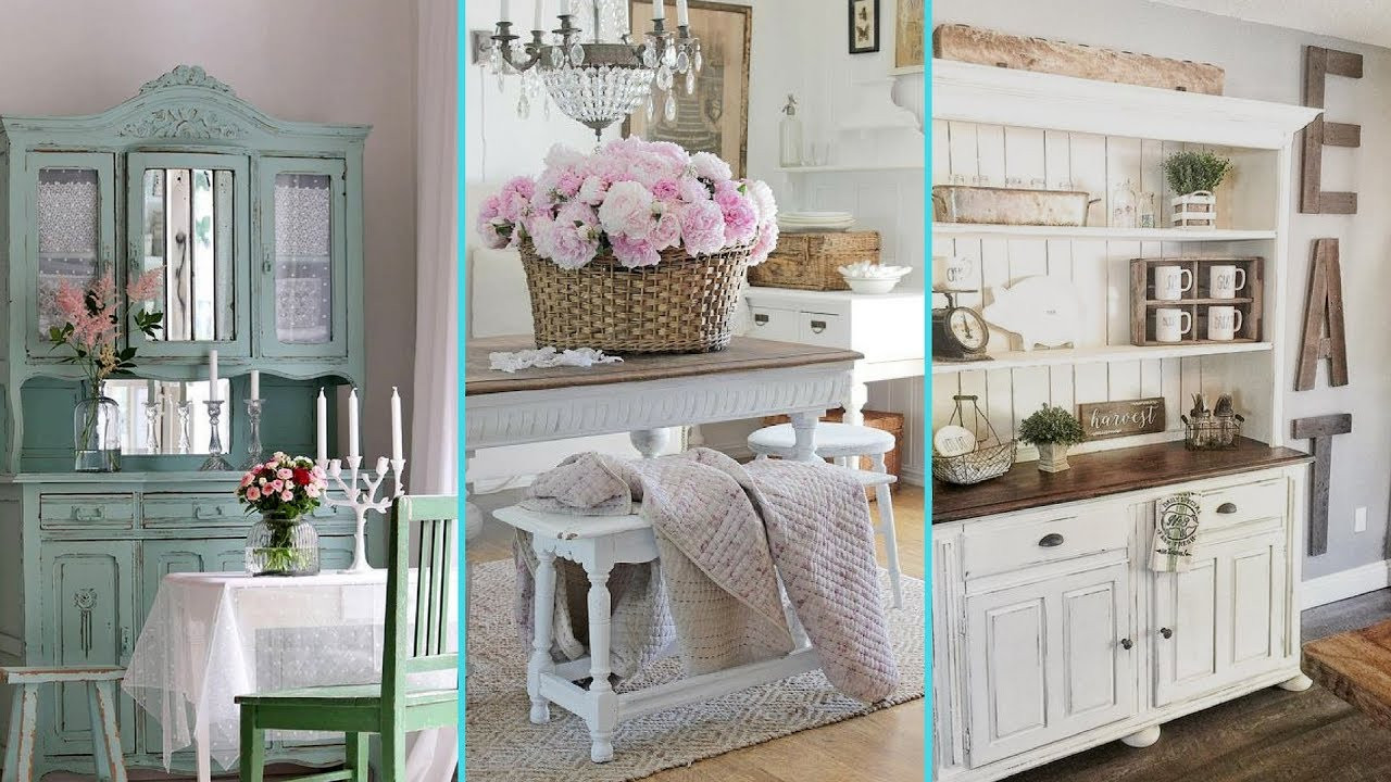 Best ideas about Shabby Chic Style . Save or Pin DIY Shabby Chic Style Dinning Room decor Ideas Now.