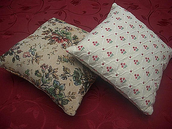 Best ideas about Shabby Chic Throw Pillows . Save or Pin 2 Shabby Chic Throw Pillows Vintage European Fabric FREE Now.