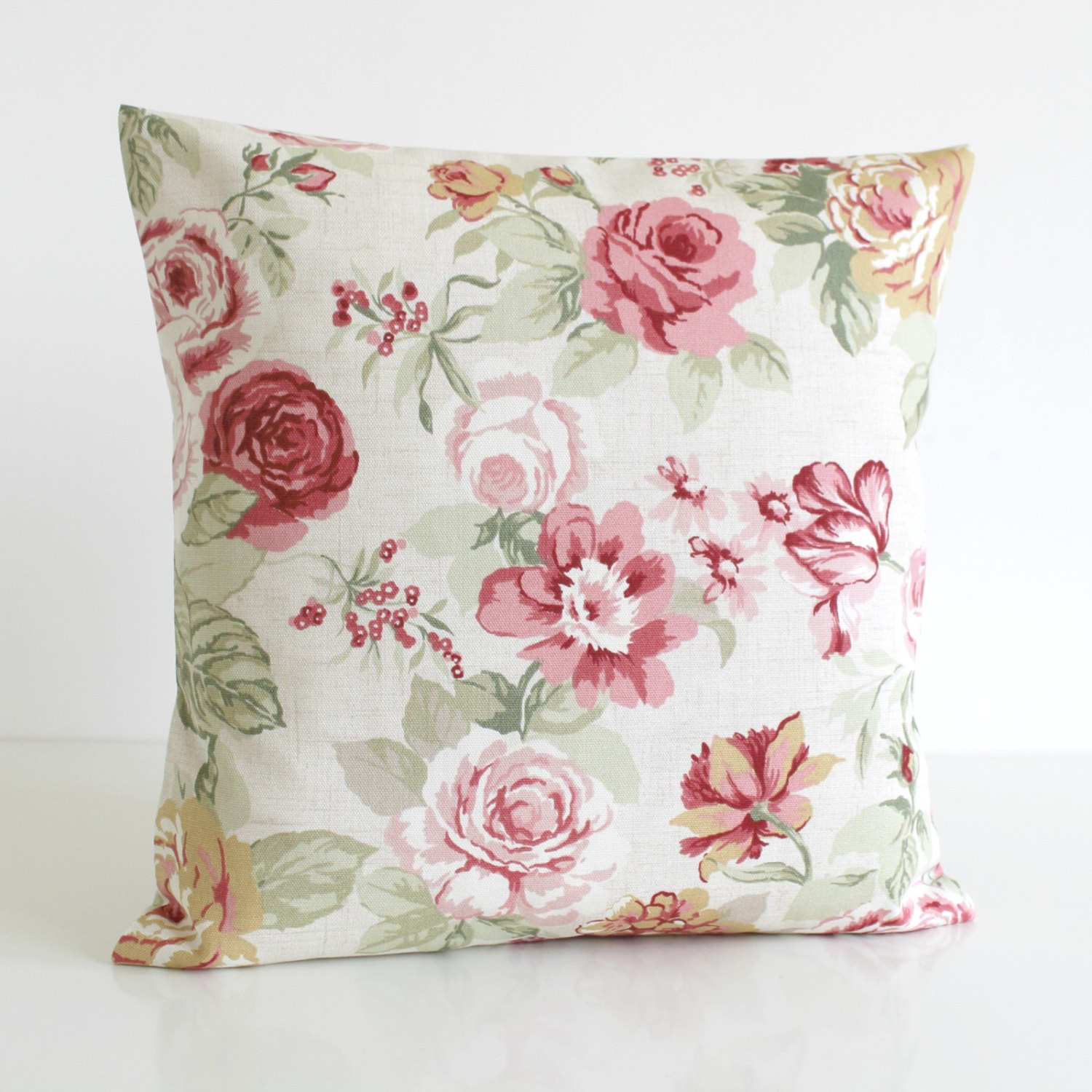 Best ideas about Shabby Chic Throw Pillows . Save or Pin Shabby Chic Decorative Pillow Cover Floral Cushion by Now.