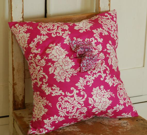 Best ideas about Shabby Chic Throw Pillows . Save or Pin Shabby Chic Pillow Cover Decorative Pillow by KenilworthPlace Now.