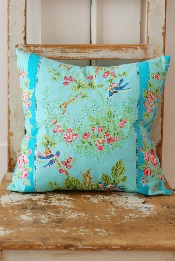 Best ideas about Shabby Chic Throw Pillows . Save or Pin Shabby Chic Pillow Cover Decorative Pillows by KenilworthPlace Now.