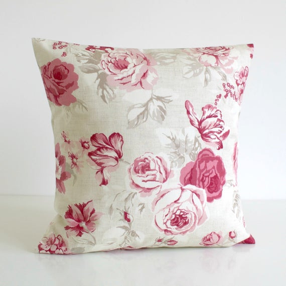 Best ideas about Shabby Chic Throw Pillows . Save or Pin Shabby Chic Throw Pillow Cover Decorative Cushion by Now.