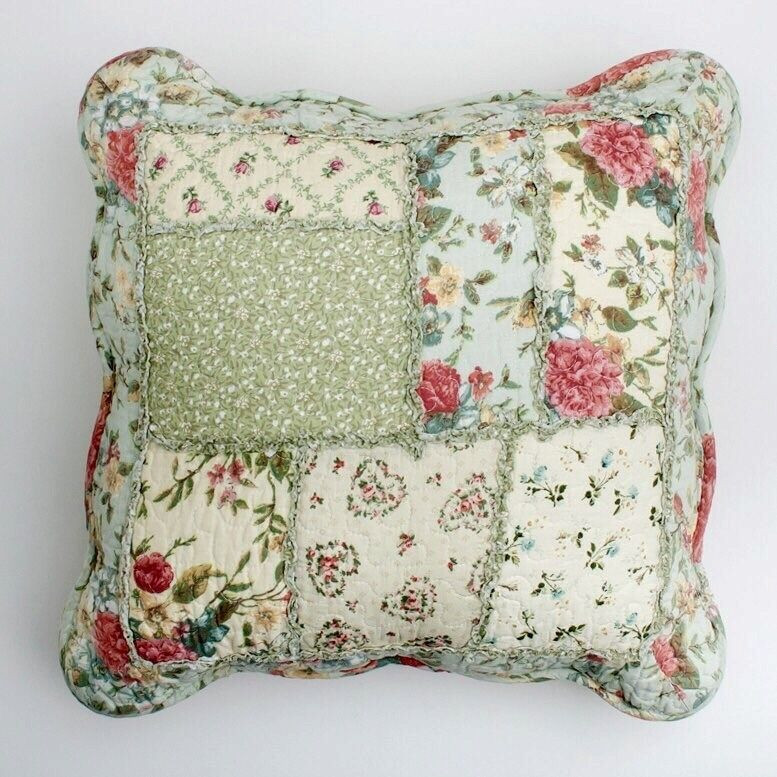 Best ideas about Shabby Chic Throw Pillows . Save or Pin Shabby Chic Throw Cushion Pillow Cover Pink Powder Blue Now.