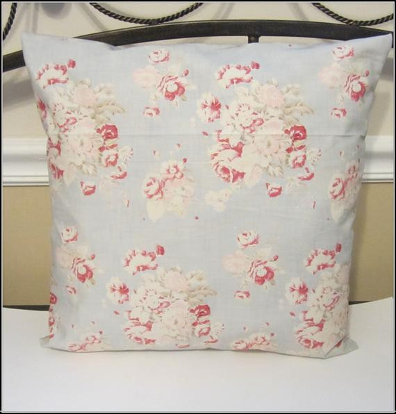 Best ideas about Shabby Chic Throw Pillows . Save or Pin Decorative Throw Shabby Chic Pillow Cover by Now.