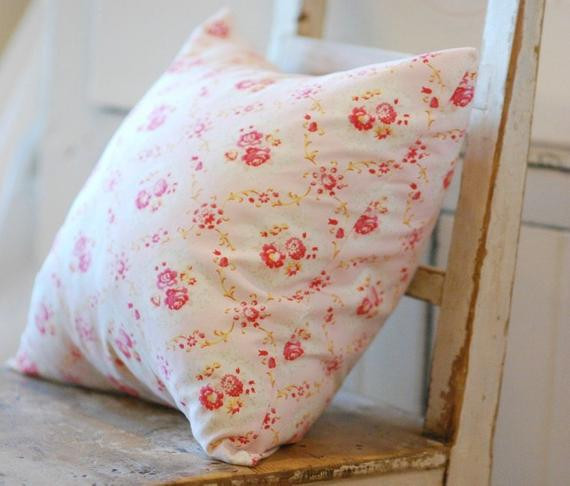 Best ideas about Shabby Chic Throw Pillows . Save or Pin Shabby Chic Pillow Cover Pink Throw Pillows by KenilworthPlace Now.