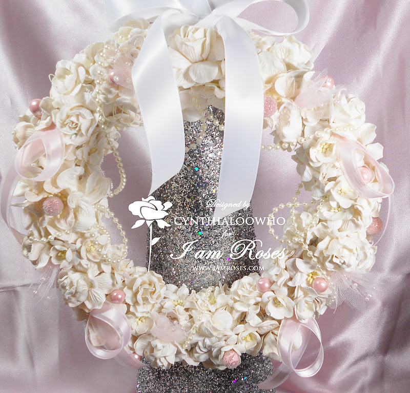 Best ideas about Shabby Chic Wreath . Save or Pin Cynthialoowho♥♥♥ Shabby Chic Christmas Wreath Now.