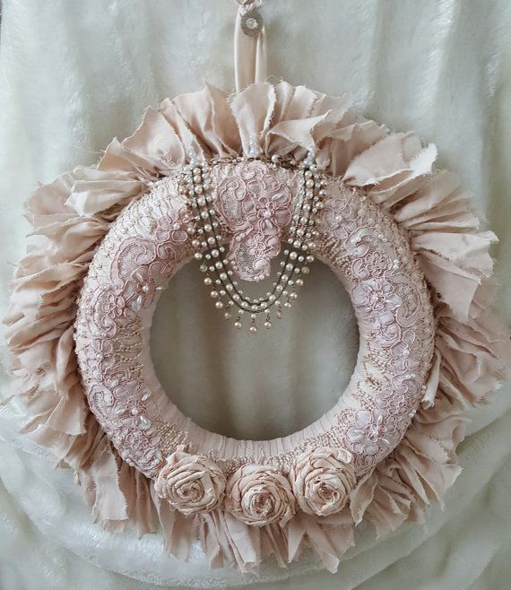 Best ideas about Shabby Chic Wreath . Save or Pin Best 25 Shabby chic wreath ideas on Pinterest Now.