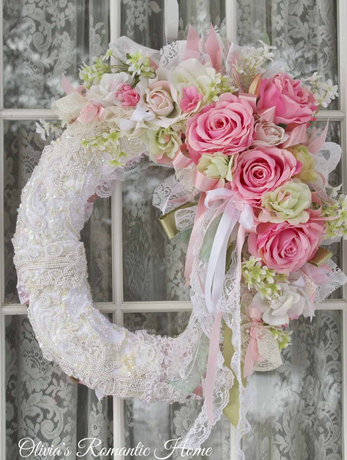 Best ideas about Shabby Chic Wreath . Save or Pin Hello my darlings Now.