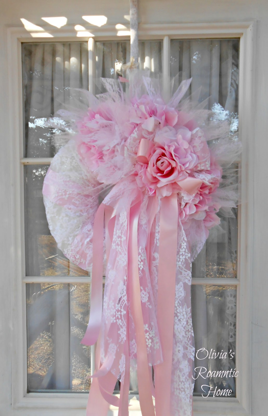 Best ideas about Shabby Chic Wreath . Save or Pin Olivia s Romantic Home Shabby Chic Valentine s Now.