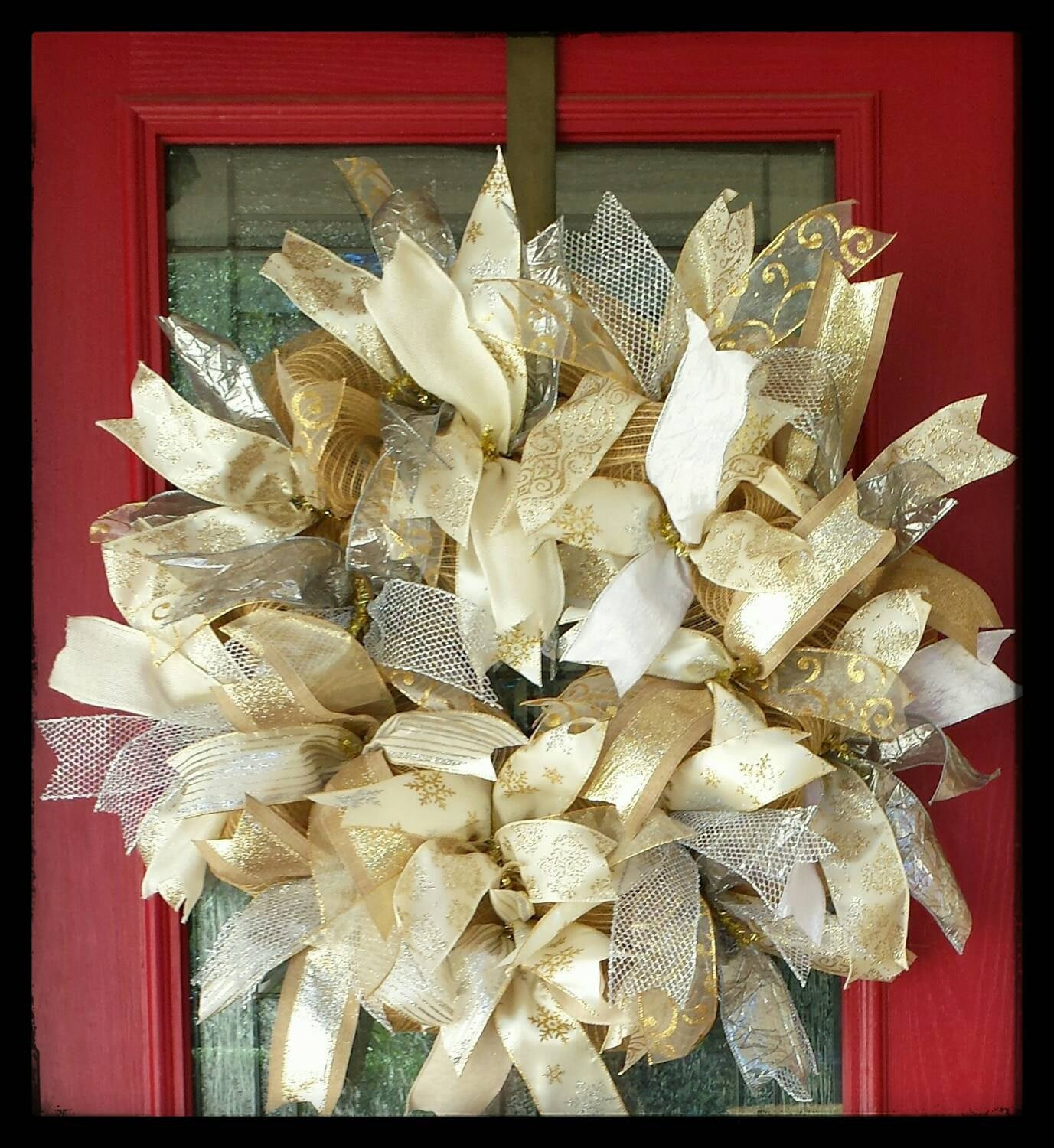 Best ideas about Shabby Chic Wreath . Save or Pin Shabby Chic Christmas Wreath Shabby Chic Wreath Fabulous Now.