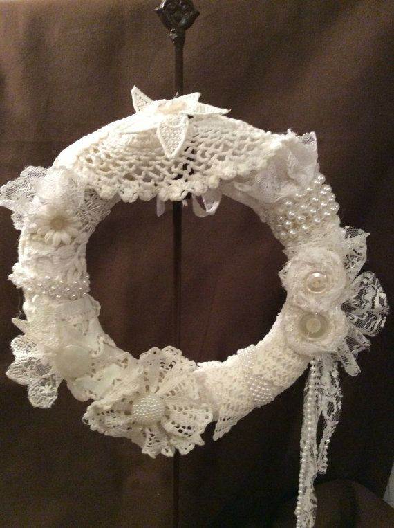 Best ideas about Shabby Chic Wreath . Save or Pin 1000 ideas about Shabby Chic Wreath on Pinterest Now.